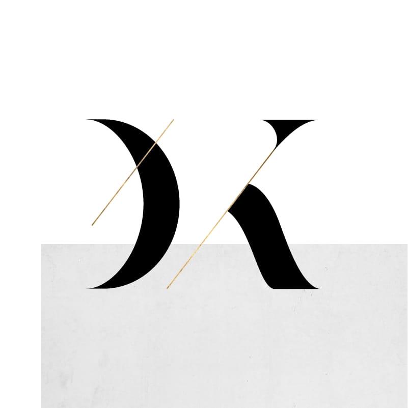 Λογότυπο Σταύρος-DK Hair Salon