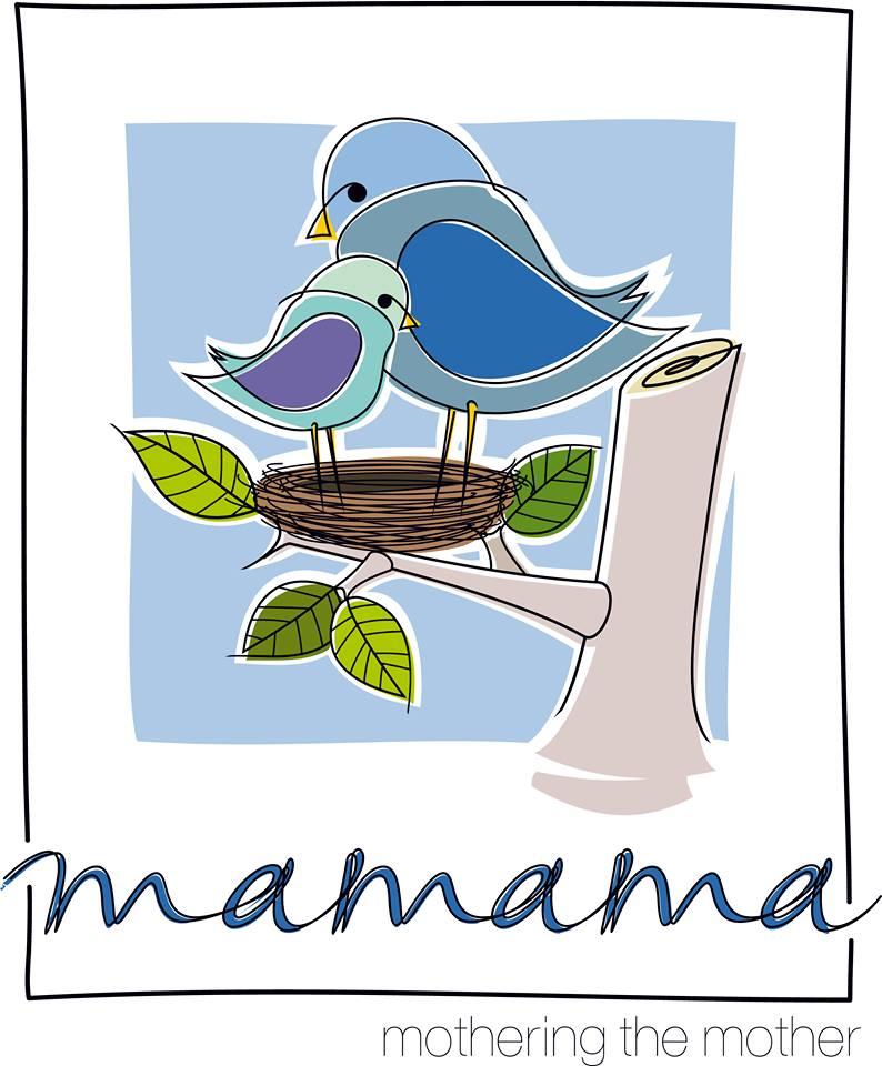 Λογότυπο Μαρία, mamama-mothering the mother